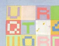 Txt Msg Baby Blanket