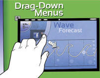 Surfboard Tablet User Experience (GUI)