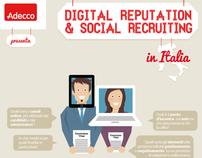 Adecco Italia infographic