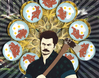 Ron Swanson—Bacon, eggs and glory