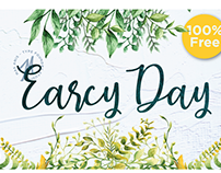 Free Font: Earcy Day