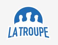 LA TROUPE - Logotype