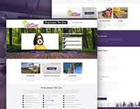All Round Tree Services Website Design
