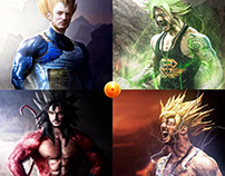 Dragon Ball Z in real life - Photomanipulation