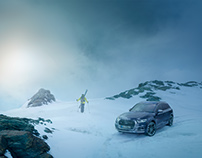 Audi quattro Ski Campaign 2017