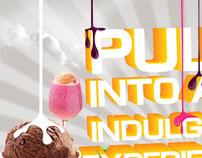 Ice cream Print ad