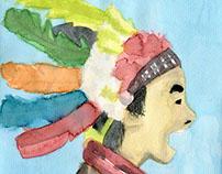 Traditional illustrations