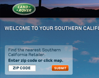 LANDING PAGE: Land Rover Dealer Locator