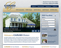 Caruso Homes Website