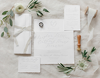 Wedding Invitation Suite Design