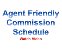 Agent Friendly Commission Schedule
