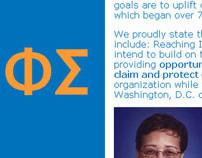 Phi Sigma Web site