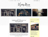 Paper Style Minimal WordPress Blog Theme