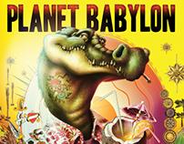PLANET BABYLON - POSTER
