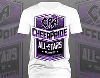 CheerPride All-Stars Season 12 Program Shirt