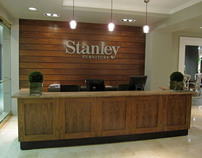 STANLEY FURNITURE SHOWROOM & RETAIL DISPLAYS
