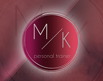 Logo - M/K  personal trainer
