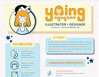 My Resume - Personal Branding Design (2017)