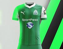 2018 / 2019 GOR MAHIA FC CONCEPT KITS