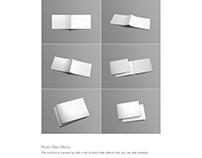 Free File of A4 Landscape Brochure Mockup Psd