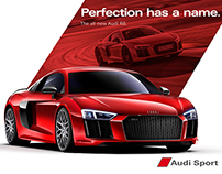 Audi R8 V10 Plus CGI 3D