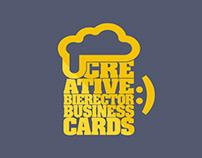 Creative Bierector Business Cards