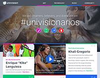 #Univisionarios