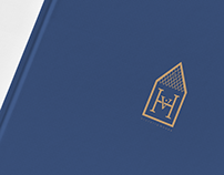 Victoria House estate - logo & brochure design