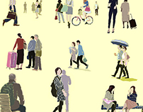 People are coming and going 7501/201705A