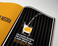 """Etiqueta Negra"" Print Campaign"