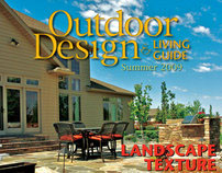 Outdoor Design & Living Guide - Editorial Design