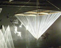 String art installation