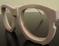 Balsa Wood eyeglasses