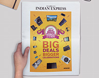 AMAZON GREAT INDIAN FESTIVAL | NEWSPAPER AD