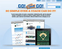 GoTeamGo Website Splashpage