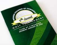 Golf Tournament Brochure