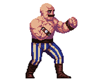 Wrestler animation