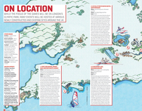 Illustrated Map for Modus Magazine