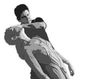 Fotoshoot voor 'Touch of Matrix' boek