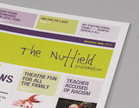 The Nuffield Theatre Brochure Redesign 2012