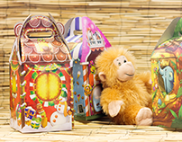 Packaging graphics for plush toys