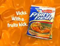 Vicks Fruity Fresh: Balcony