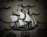 The Mariner's Revenge Song Animated Comics