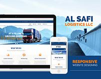 AL SAFI LOGISTICS Website Project