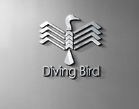 Diving Bird Logo | Branding