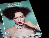L'Oréal academy book Taiwan