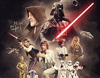Star Wars: Episode IV - A New Hope tribute poster