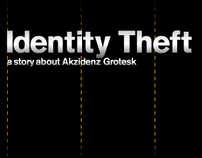Identity Theft | a story about Akzidenz Grotesk