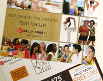 Bally Sport- 11x17 Direct Mail