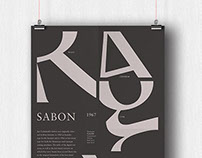 Type Classifications Poster Series